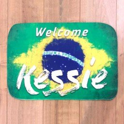 tapete personalizado 60x40 welcome