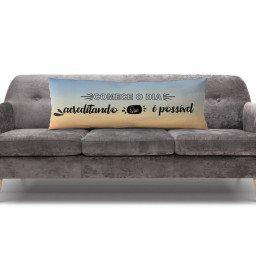 almofada gigante frases azul mdecore alg0082 2