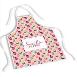 avental mdecore sweet life   rosa ave0016