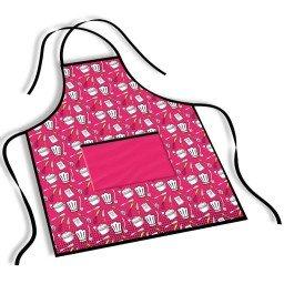 avental mdecore cozinha  pink ave0069