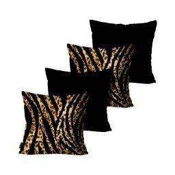 kit almofadas onca zebra mdecore dec6159 kit 4