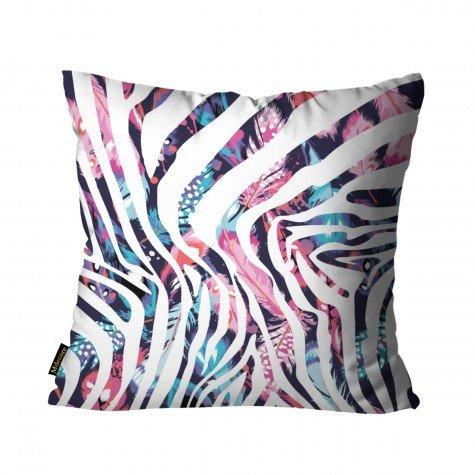 almofada pena zebra colorido mdecore dec6166 1