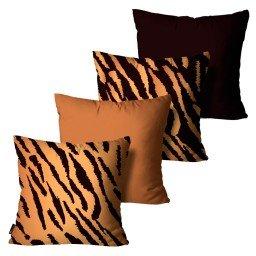kit almofadas animal print zebra mdecore dec6102 kit4
