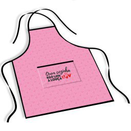 avental mdecore cozinha rosa ave0043