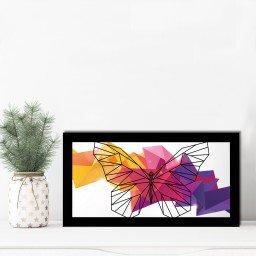 quadro alto relevo borboleta geometrico colorido mdecore qar0025 4