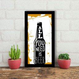 quadro alto relevo garrafa cerveja bicolor mdecore qar0021 4