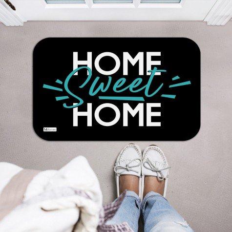 tapete decorativo home sweet home preto verde mdecore tpr0004 2