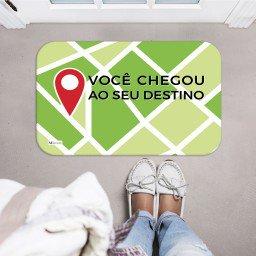 tapete decorativo mapa localizacao frase verde mdecore tpr0010 2
