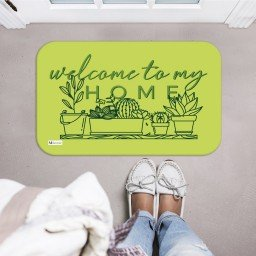 tapete decorativo verde welcome to my home cactos mdecore tpr0029 2