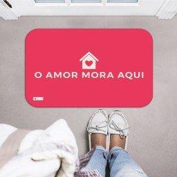 tapete decorativo vermelho casa frase mdecore tpr0030 2