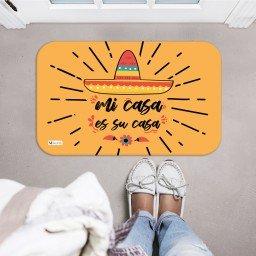 tapete decorativo mostarda mi casa es su casa chapeu mexicano mdecore tpr0031 2