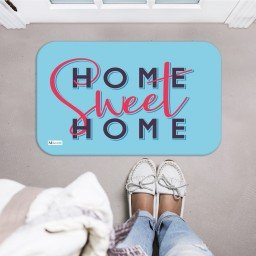 tapete decorativo azul home sweet home mdecore tpr0037 2