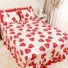 lencol colcha de casal com elastico coracoes vermelho 158x198cm lec0006 158 2