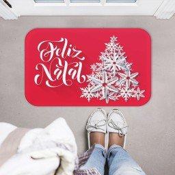 tapete decorativo natal arvore estrela vermelho prata mdecore tprn0001 2