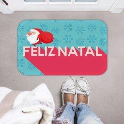 tapete decorativo natal papai noel estrelas verde vermelho mdecore tprn0005 2