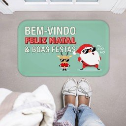 tapete decorativo natal papai noel renas verde mdecore tprn0016 2