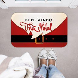 tapete decorativo natal papai noel barba roupa vermelho bege mdecore tprn0018 2