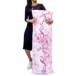 almofada gigante arabesco flores rosa mdecore alg0045 2