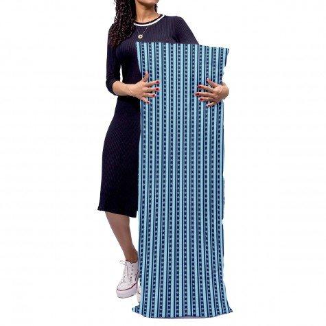 almofada gigante listrado azul mdecore alg0096 2