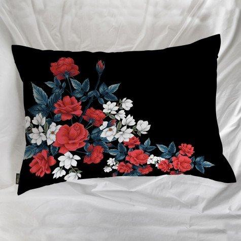 fronha avulsa flores preto mdecore frn0001 3