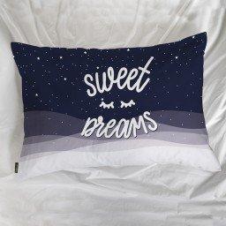 fronha avulsa sweet dreams branco azul mdecore frn0055 3