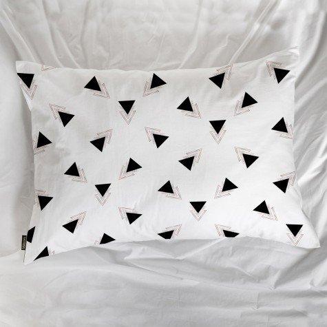 fronha avulsa triangulo branco mdecore frn0056 3