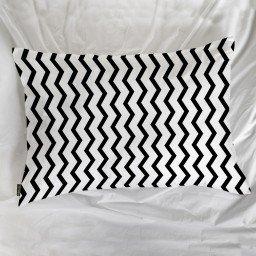 fronha avulsa chevron branco preto mdecore frn0071 3