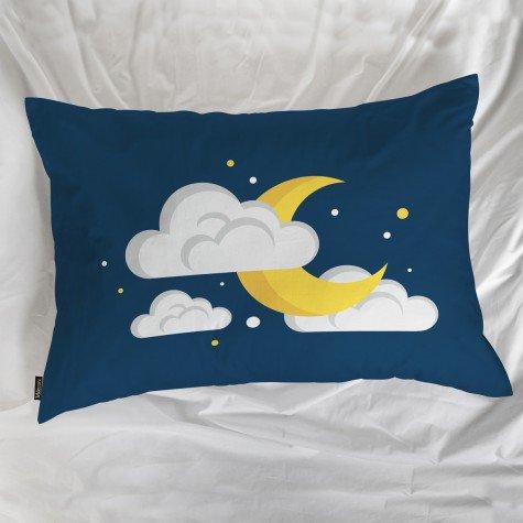 fronha avulsa lua nuvem azul mdecore frn0078 3