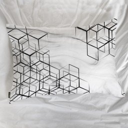 fronha avulsa geometrico branco mdecore frn0023 3