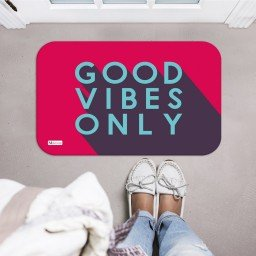 tapete decorativo vermelho good vibes only roxo mdecore tpr0028 2