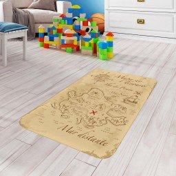 tapete de atividades infantil mapa tesouro bege tpinf0014 2