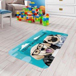tapete de atividades infantil cachorro turquesa tpinf0022 2