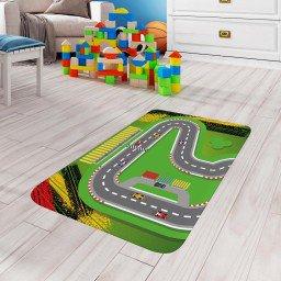 tapete de atividades infantil pista corrida verde tpinf0025 2