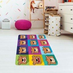 tapete de atividades infantil urso colorido tpinf0034 2