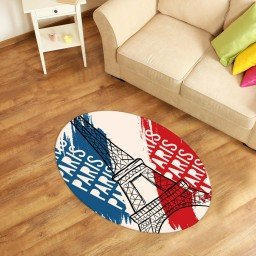 tapete oval decorativo paris off white tpov0029 2