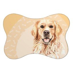 tapete pet osso golden bege mdecore pet0301 1