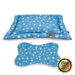 colchonete para cachorro tapete pet estrela azul cht1001 2