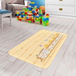 tapete de atividades infantil pintinhos amarelo claro tpinf0068 2