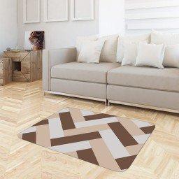 tapete sala geometrico rosa marron tpdec0009 3