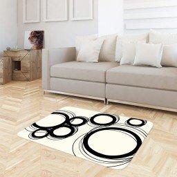 tapete sala circulos off white preto tpdec0043 3