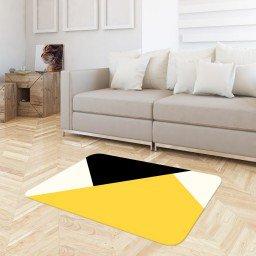 tapete sala abstrato amarelo tpdec0044 3