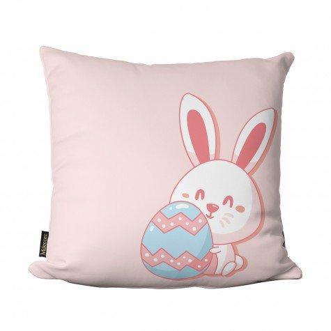 almofada de pascoa coelho ovos rosa claro pas1003 3