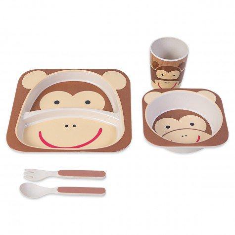 kit infantil de macaco marrom jol02099133 kit