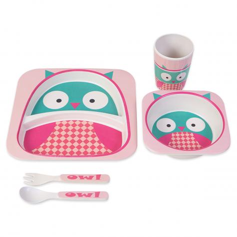 kit infantil de coruja rosa jol02090109186 kit