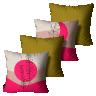 kit almofadas primavera verao sol e lua colorido 45 x 45 pv6530 kit