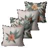 kit almofadas rusticas florais crua 45 x 45 lin0013 kit
