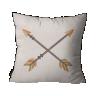 almofada rustica flechas crua 45 x 45 linho lin0029 1